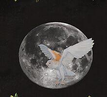 Finish Barn owl Merry Christmas by Eric Kempson