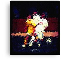 091911 111 0 water color soccer lomo 6 expressionist Canvas Print