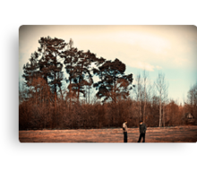 The Trees are Tall Canvas Print