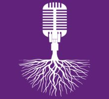 Musical Roots (Microphone) by canossagraphics