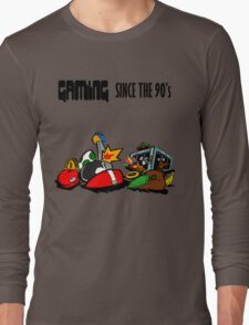 Gaming Since the 90's Long Sleeve T-Shirt