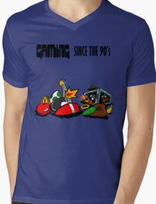 Gaming Since the 90's Mens V-Neck T-Shirt