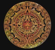 Aztec color calendar  by rafo