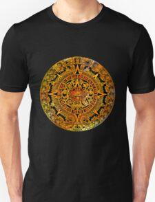 Aztec color calendar  T-Shirt