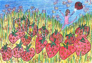 STRAWBERRY FIELDS FOREVER by ANNART