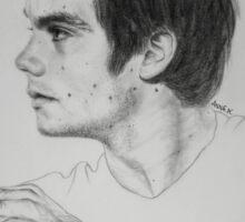 Dylan O'Brien / Stiles Stilinski/ Teen Wolf/ Maze Runner Drawing. Sticker