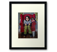 Controlling the Protagonists Framed Print