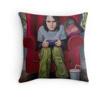 Controlling the Protagonists Throw Pillow