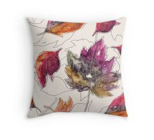 Maple Pattern Throw Pillow