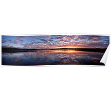Magnificence - Narrabeen Lakes, Sydney Australia - The HDR Experience Poster