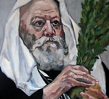 portrait of Rabbi by Nataliya Stoyanova