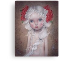 If I told you a flower bloomed in the dark Canvas Print