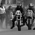 Vintage Bike Race - Basse, Netherlands by Alan Harman
