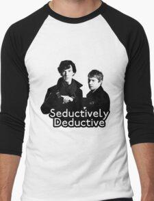 Seductively Deductive Men's Baseball ¾ T-Shirt