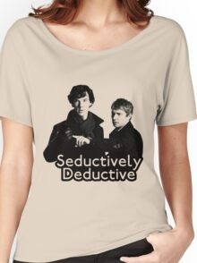 Seductively Deductive Women's Relaxed Fit T-Shirt