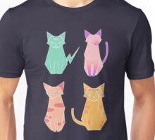 Alien Cat Pattern Unisex T-Shirt
