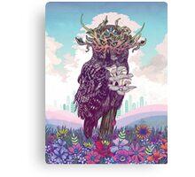 Journeying Spirit (Owl) Canvas Print