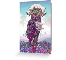 Journeying Spirit (Owl) Greeting Card