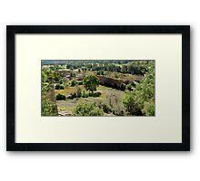 Glen Davis Oil Shale Works Framed Print