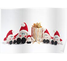 Present and gnomes Poster
