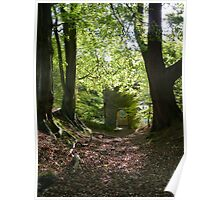"""""""Secret Tower""""  Swithland, Leicestershire Poster"""