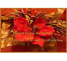 A wish for you at Christmas.... Photographic Print