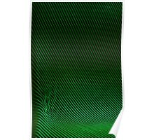 Green Ripples Poster