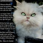 """Princess Kendra"" Poem Written by Dawn M. Becker..Kendra's Other Mommy..xx by Toni Kane"