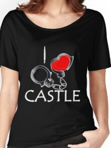 I Love Castle Women's Relaxed Fit T-Shirt
