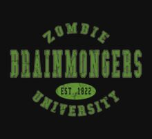Zombie U Brainmongers Infected Jersey by Kyle Gentry