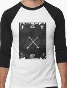 White arrows Men's Baseball ¾ T-Shirt
