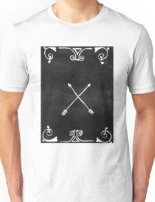 White arrows Unisex T-Shirt