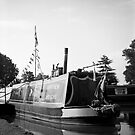 Narrow Boat, Stratford Upon Avon by Matthew Walters