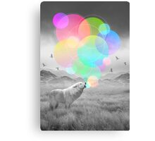 The Echoes of Silence Canvas Print