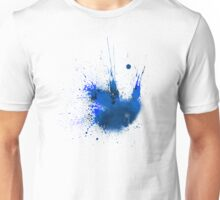 Splash Space Blue Unisex T-Shirt