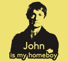 John is My Homeboy Baby Tee
