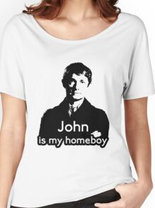 John is My Homeboy Women's Relaxed Fit T-Shirt