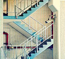 Abstract Stairway by susan stone
