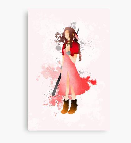 Final Fantasy 7: Aerith Gainsborough Giclee Art Print Canvas Print