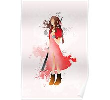 Final Fantasy 7: Aerith Gainsborough Giclee Art Print Poster