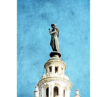 Watching Over the Plaza Photographic Print