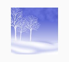 Woodland in Winter Scene T-Shirt