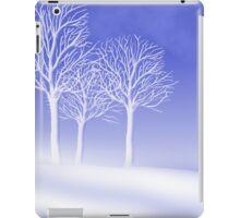Woodland in Winter Scene iPad Case/Skin