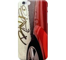 Thick Red iPhone Case/Skin