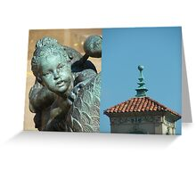 Plaza Details Greeting Card