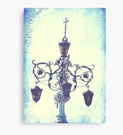 Plaza Light Canvas Print