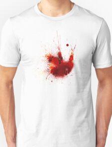 Splash Space Red T-Shirt