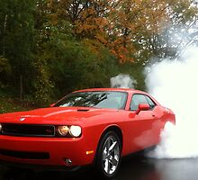 2010 Dodge Challenger R/T Burnout by kalitarios