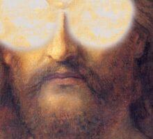 Cool Jesus Street Art Sticker