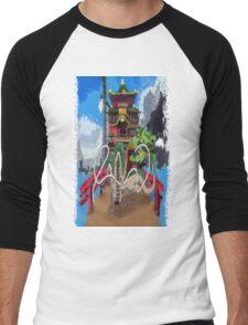 River Spirit  Men's Baseball ¾ T-Shirt